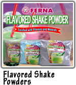 Flavored Shake Powders